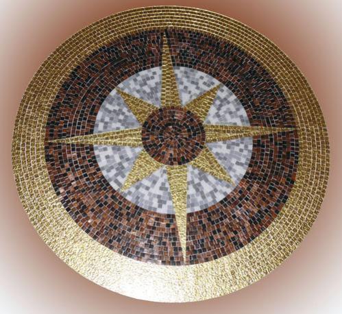 Мозаичное панно своими руками фото